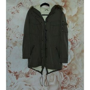 S13 Field Sherpa Parka Coat